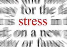 Le stress, en particulier lorsqu'il y a eu des phases longues et violentes, peut altérer la captation visuelle!