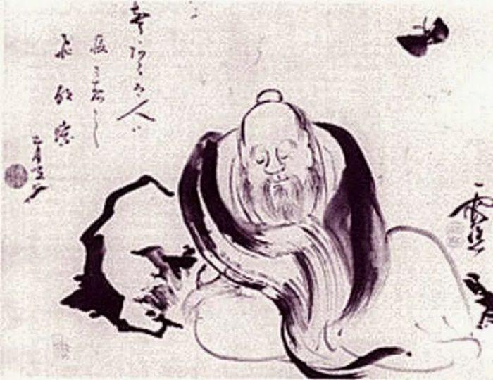 Zhuangzi rêvant d'un papillon, ou un papillon rêvant de Zhuangzi...